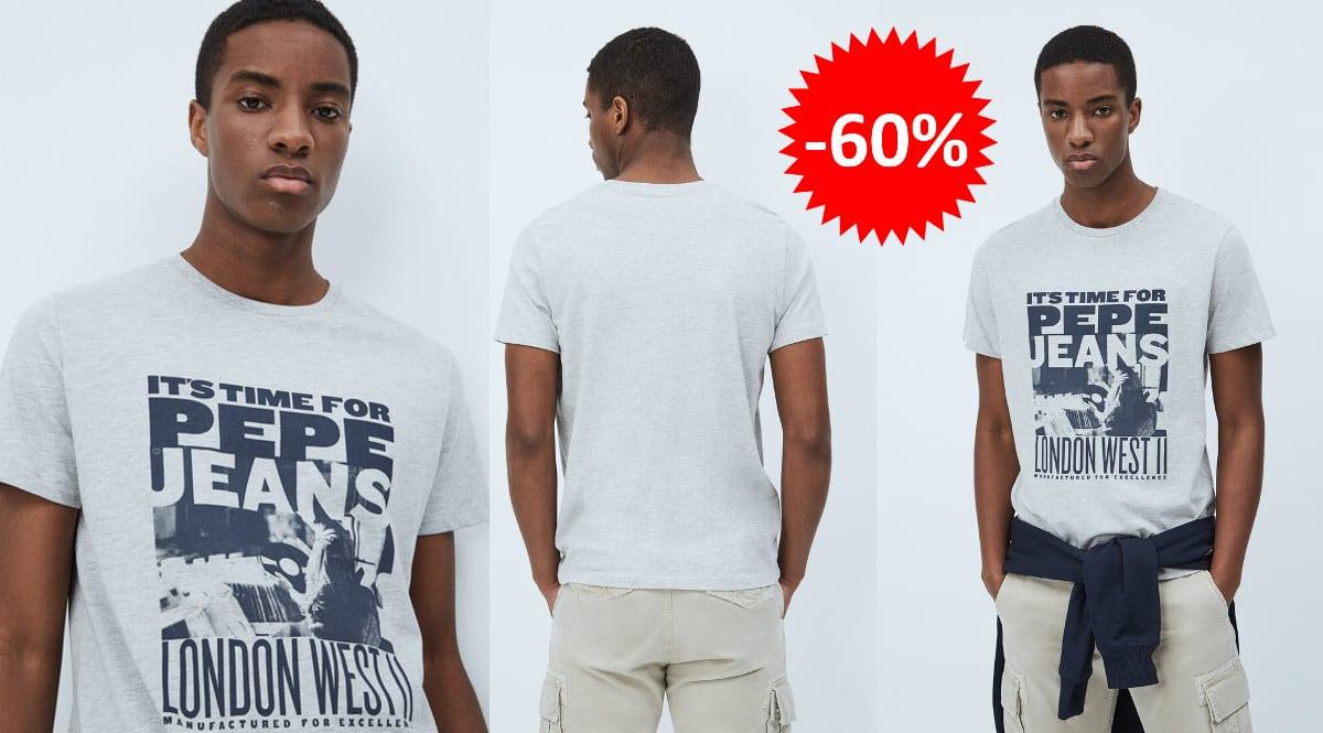 Camiseta Pepe Jeans Alexis barata, ropa de marca barata, ofertas en camisetas chollo