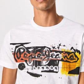 Camiseta Pepe Jeans Amersham barata, ropa de marca barata, ofertas en camisetas