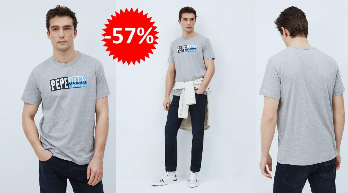 Camiseta Pepe Jeans Gelu barata, camisetas de marca baratas, ofertas en ropa, chollo