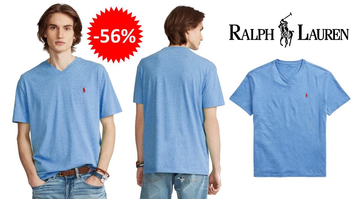 Camiseta Ralph Lauren Punto Custom barata, ropa de marca barata, ofertas en camisetas chollo