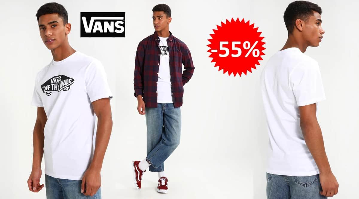 Camiseta Vans OTW barata, camisetas de marca baratas, ofertas en ropa, chollo