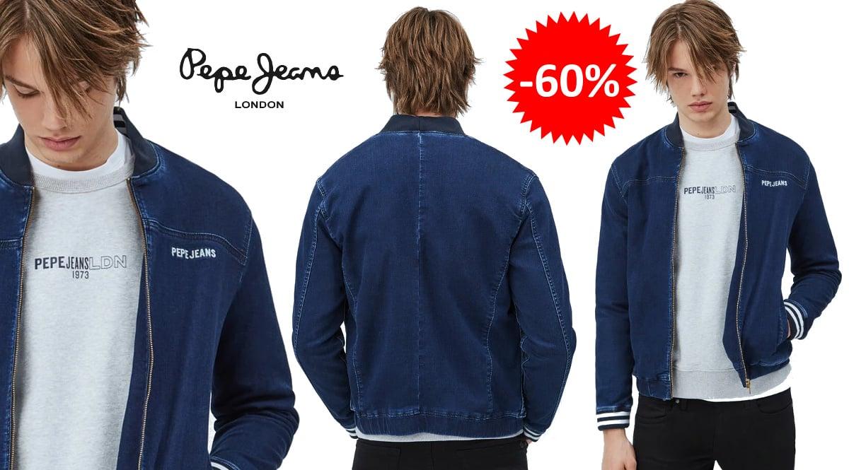 Cazadora vaquera Pepe Jeans Ted barata, ropa de marca barata, ofertas en chaquetas chollo