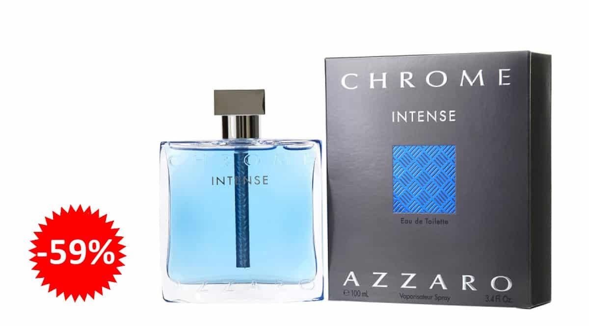 Colonia para hombre Azzaro Chrome intense barata, colonias de marca baratas, ofertas en belleza, chollo