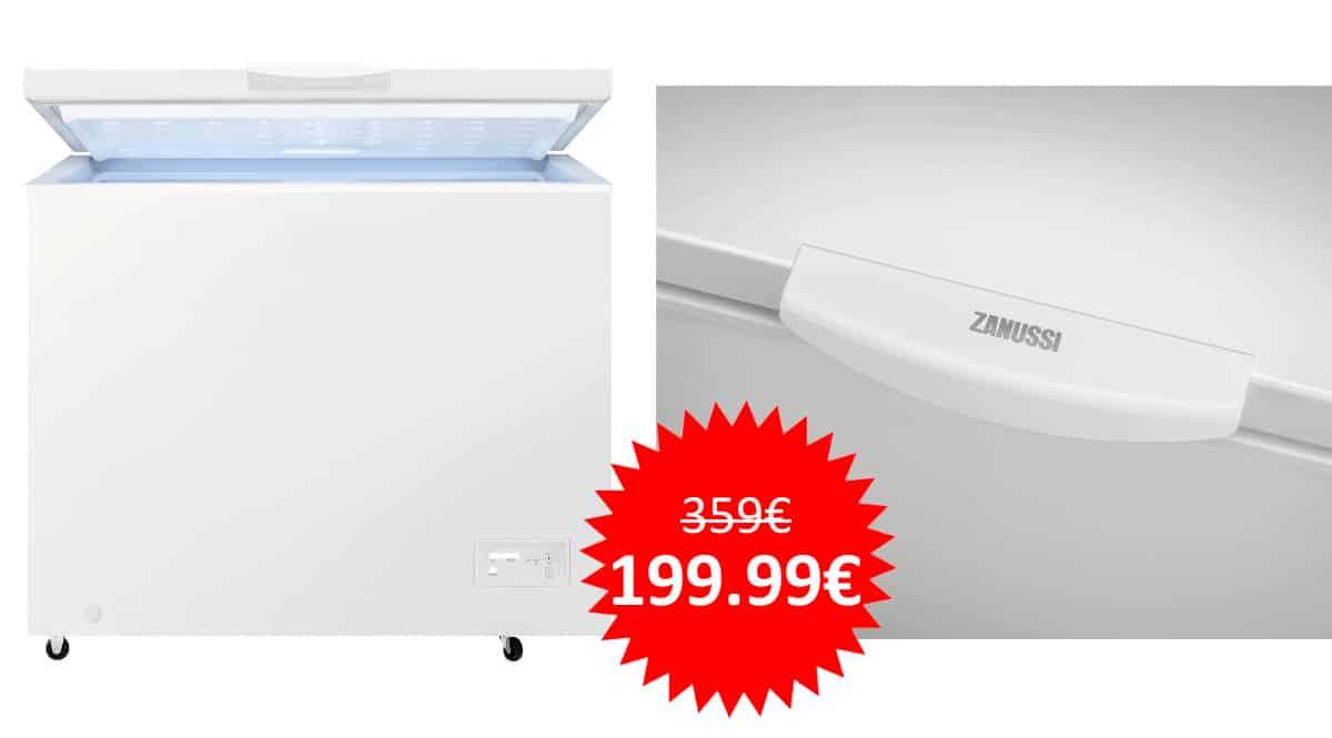 ¡Precio mínimo histórico! Congelador Zanussi ZCAN20FW1 de 198 litros sólo 199 euros. Te ahorras 160 euros.