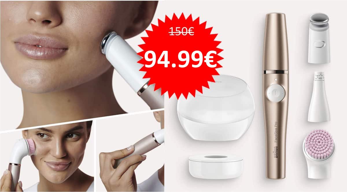 Depiladora facial Braun FaceSpa Pro 921 barata. Ofertas en depiladoras faciales, depiladoras faciales baratas,chollo