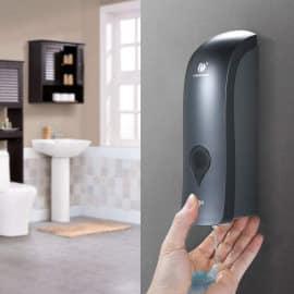 Dispensador de jabón de pared barato, ofertas en dispensadores de jabón