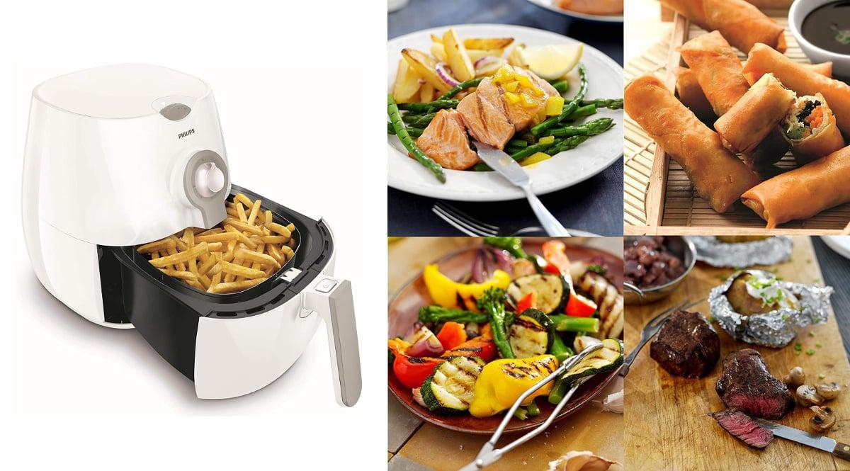 Freidora de aire Philips Airfryer barata, freidoras de marca baratas, ofertas hogar y cocina, chollo