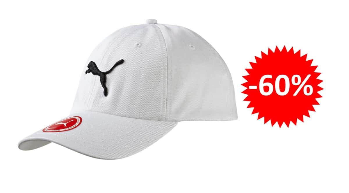 ¡¡Chollo!! Gorra Puma Essentials sólo 6.75 euros. 60% de descuento.