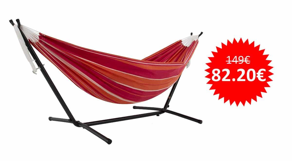 ¡Precio mínimo histórico! Hamaca con soporte incluido Vivere UHSDO8-36 sólo 82 euros.