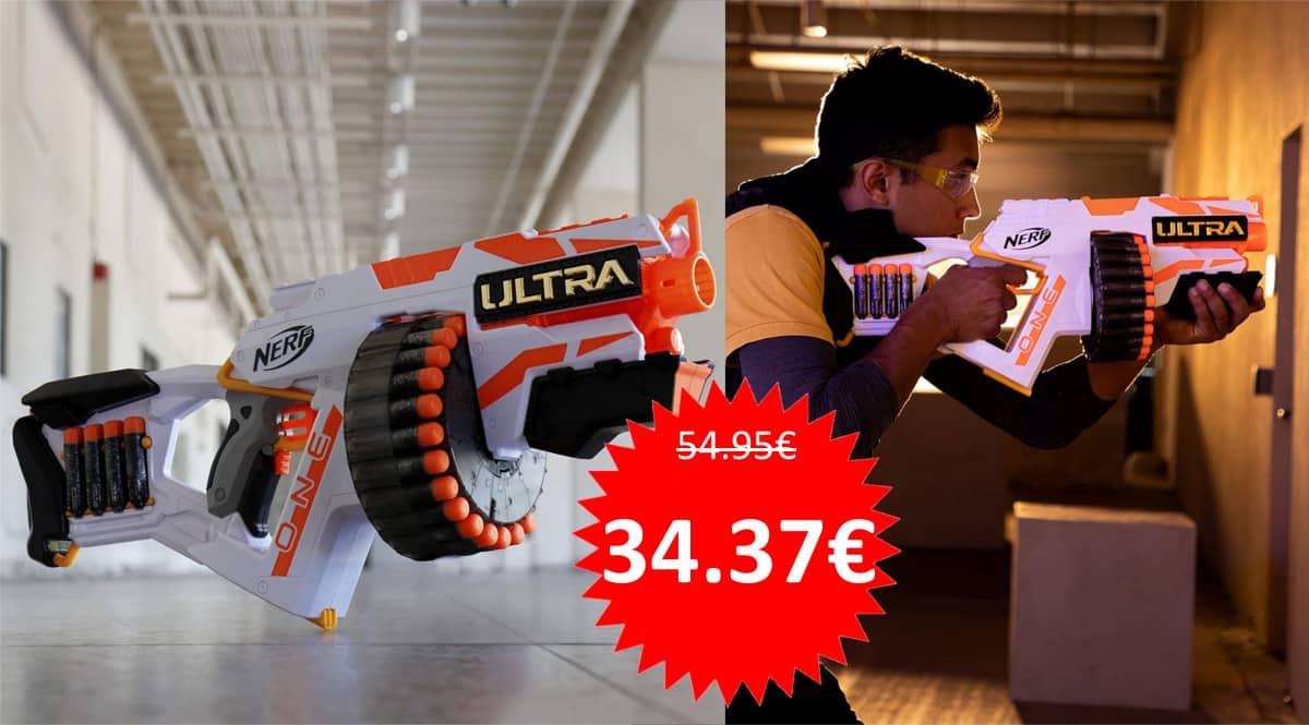 Lanzadardos Nerf Ultra One baratos. Ofertas en juguetes, juguetes baratos, chollo