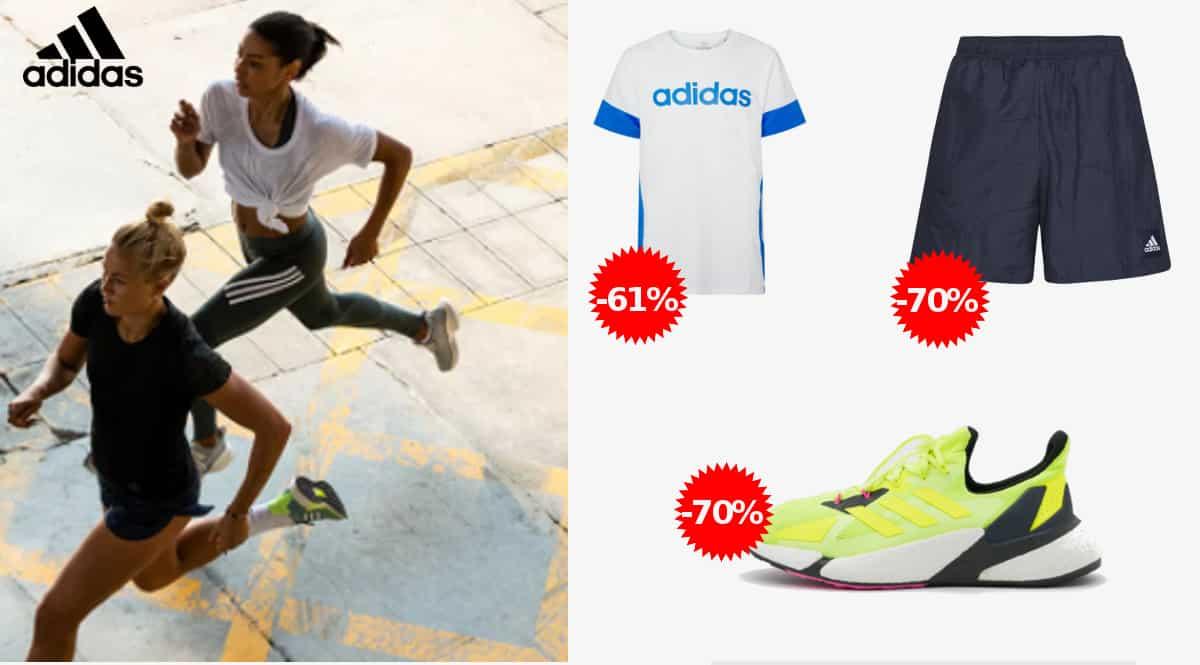 Ofertas en ropa y calzado Adidas par aniño y adulto, ropa de marca barata, ofertas en zapatillas, chollo