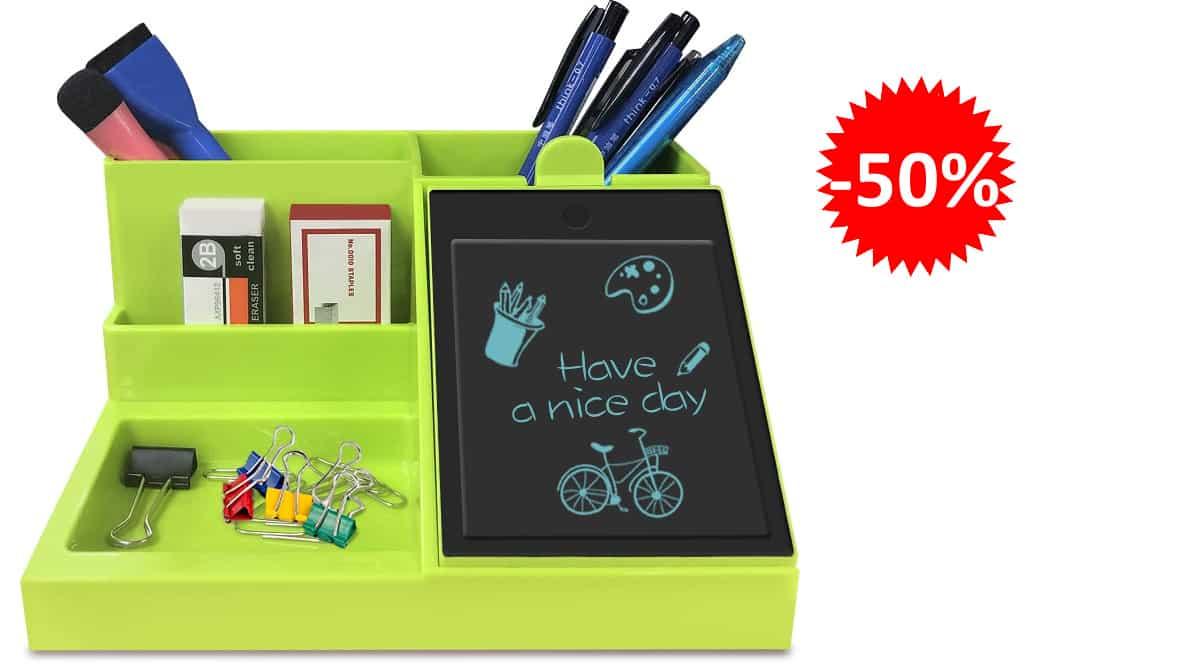 Organizador de escritorio con pantalla GUYUCOM barato, organizadores baratos, ofertas oficina, chollo