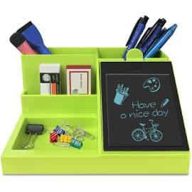 Organizador de escritorio con pantalla GUYUCOM barato, organizadores baratos, ofertas oficina