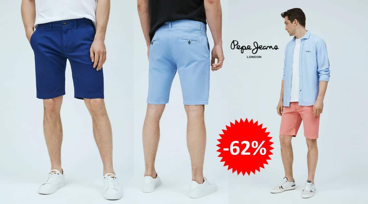 Pantalón corto Pepe Jeans Mc Queen barato, ropa de marca barata, ofertas en pantalones chollo