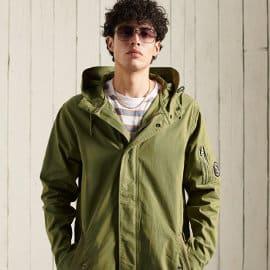 Parka Superdry Service barata, ropa de marca barata, ofertas en chaquetas