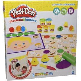 Play-Doh Modela y aprende letras e idiomas barato, juguetes de marca baratos, ofertas para niños,