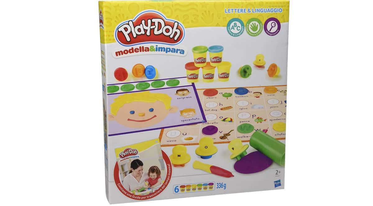 Play-Doh Modela y aprende letras e idiomas barato, juguetes de marca baratos, ofertas para niños