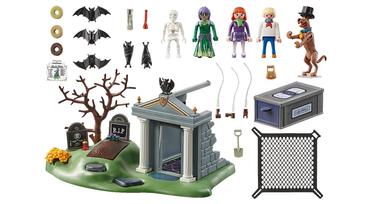 Playmobil Scooby-Doo Aventura en el Cementerio barato, juguetes baratos, ofertas para niños chollo