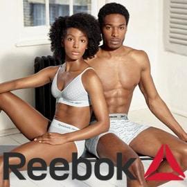 Ropa interior Reebok barata, ropa interior de marca barata, ofertas en ropa, chollo
