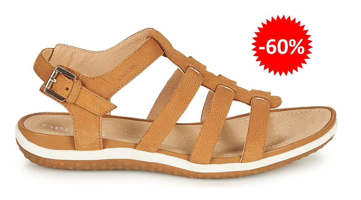 Sandalias Geox Vega baratas, calzado de marca barato, ofertas en sandalias chollo