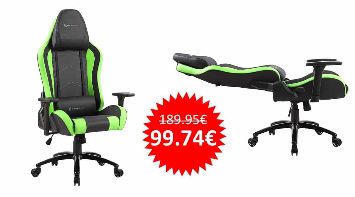 ¡Precio mínimo histórico! Silla gaming profesional Newskill Takamikura sólo 99 euros. Te ahorras 90 euros.