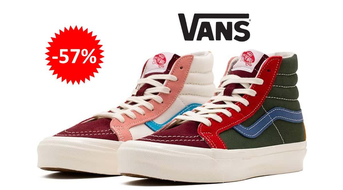 Zapatillas Vans UA OG SK8-HI LX baratas, calzado de marca barato, ofertas en zapatillas chollo