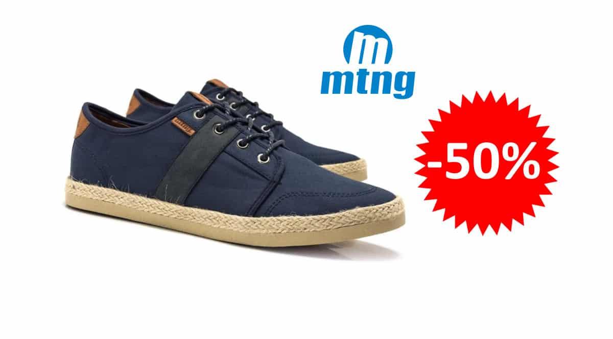 ¡Precio mínimo histórico! Zapatillas deportivas Mustang 84668 sólo 16.45 euros. 50% de descuento.