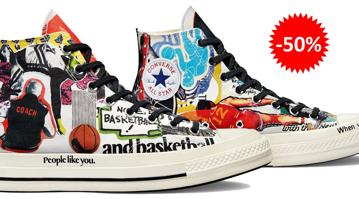 Zapatillas unisex Converse x Beat The World baratas, calzado de marca barato, ofertas en zapatillas chollo