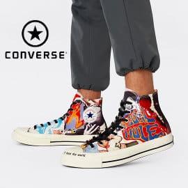 Zapatillas unisex Converse x Beat The World baratas, calzado de marca barato, ofertas en zapatillas