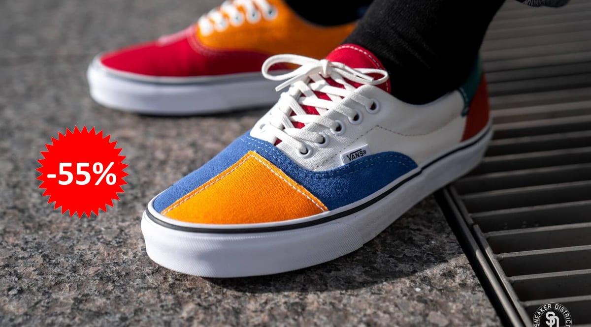 Zapatillas unisex Vans Patchwork Era baratas, calzado de marca barato, ofertas en zapatillas chollo