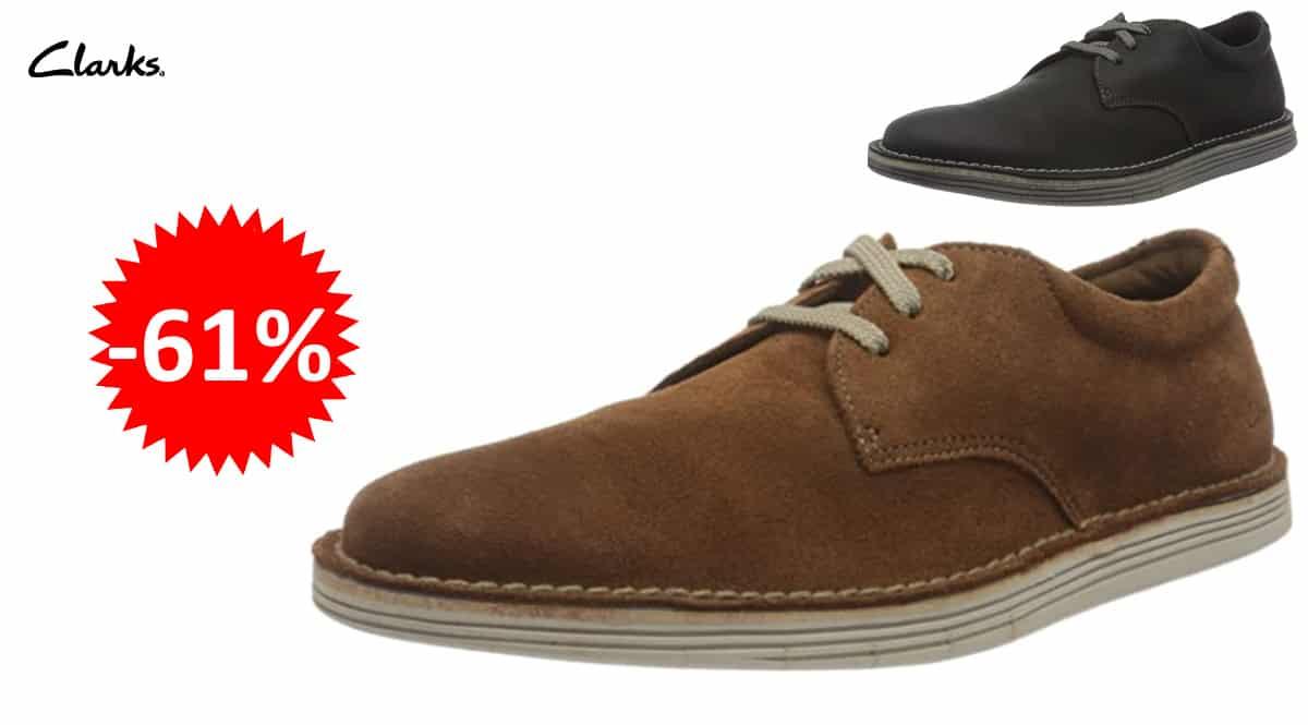 Zapatos Clarks Forge Vibe baratos, zapatos demarca baratos, ofertas en calzado, chollo