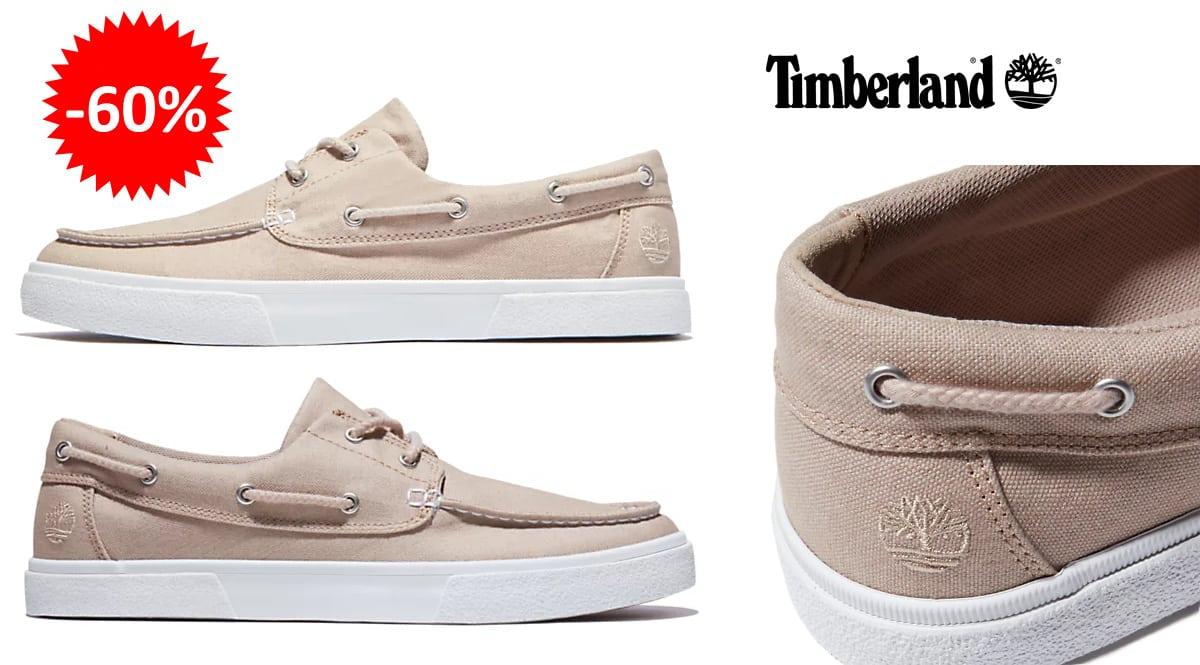 Zapatos náuticos Timberland Union Wharf baratos, calzado de marca barato, ofertas en zapatos chollo