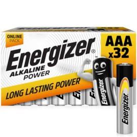 32 pilas Energizer AAA baratas. Ofertas en pilas, pilas baratas