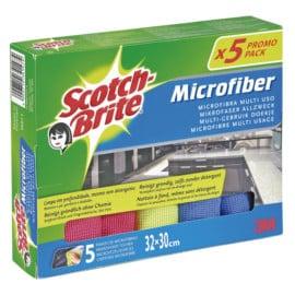 5 bayetas de microfibra Scotch-Brite baratas. Ofertas en supermercado