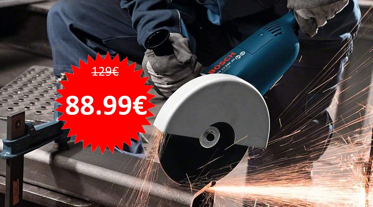 Amoladora Bosch Professional GWS 22-230 JH barata. Ofertas en herramientas, herramientas baratas, chollo