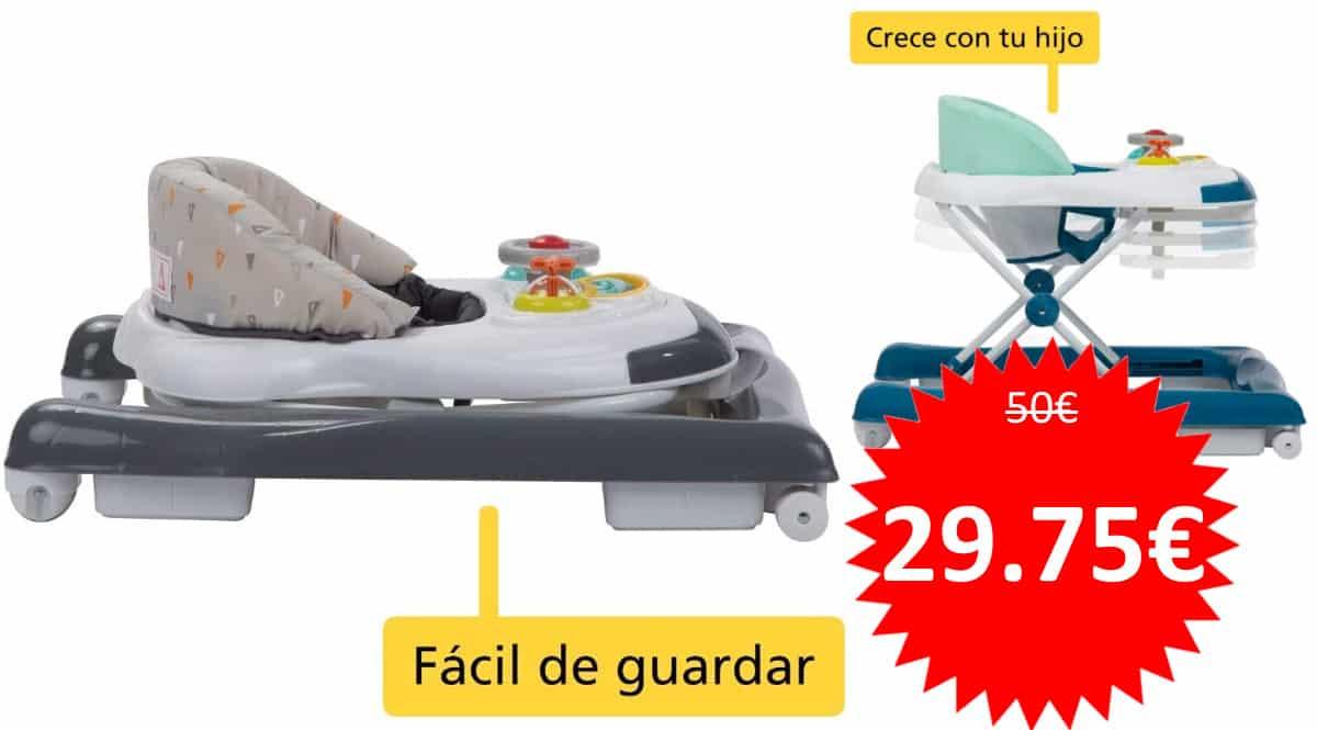 Andador para bebé Safety 1st Bolid barato. Ofertas en productos para bebé, productos para bebé baratos, chollo