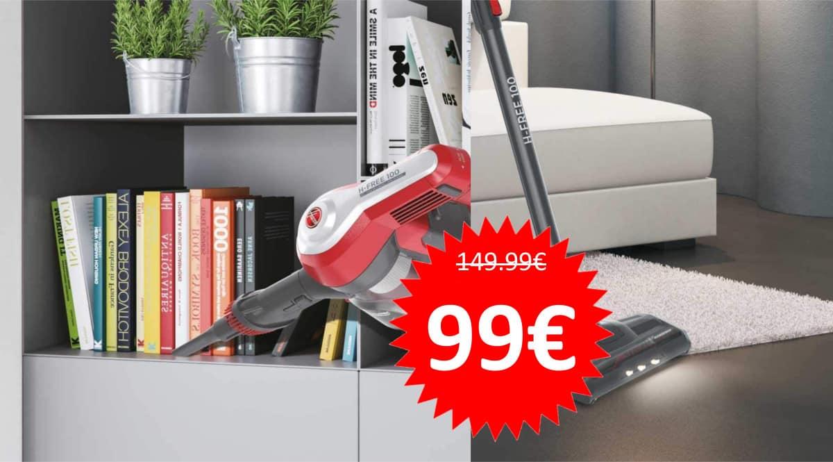 Aspirador Hoover H-FREE 100 HF122RH barato. Ofertas en aspiradores, aspiradores baratos, chollo