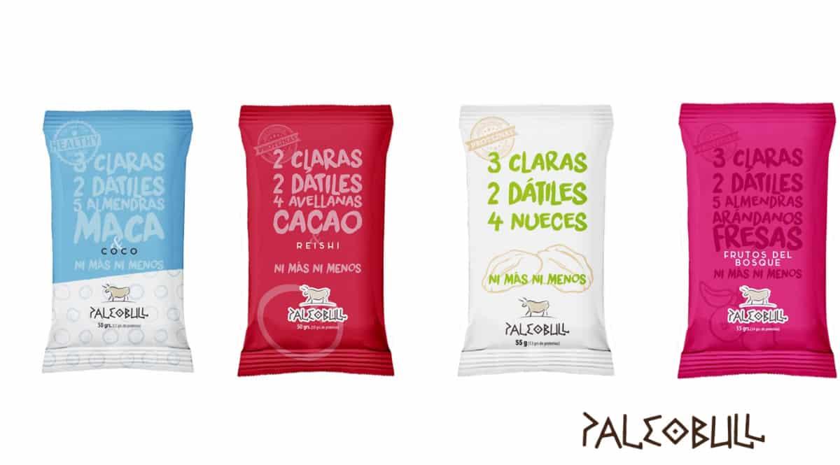 Barritas energéticas Palleobull baratas, barritas energéticas de proteínas baratas, ofertas en alimentación saludable, chollo