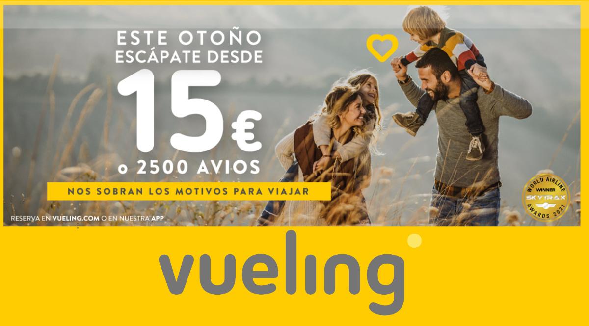 Billetes de avión baratos con Vueling, vuelos baratos, ofertas en viajes, chollo