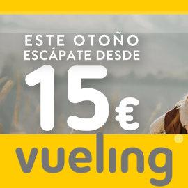 Billetes de avión baratos con Vueling, vuelos baratos, ofertas en viajes