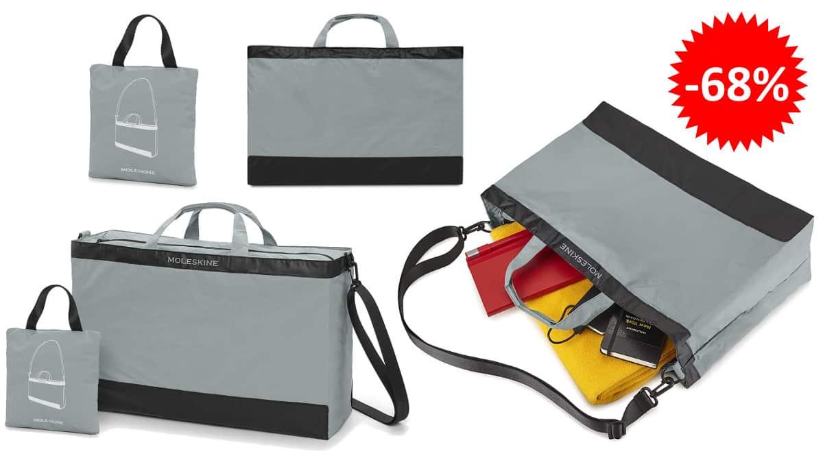 Bolsa de viaje plegable Moleskine barata, bolsas baratas, ofertas en equipaje chollo