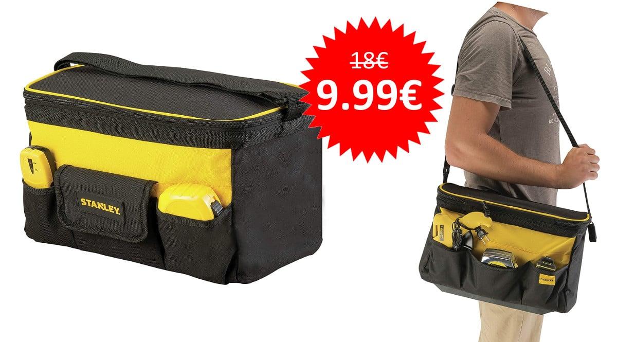 ¡Precio mínimo histórico! Bolsa para herramientas Stanley sólo 9.99 euros.