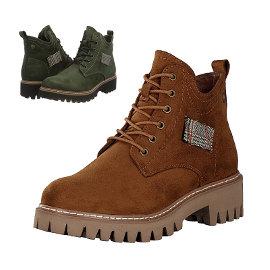 Botas Rieker para mujer baratas, botas de marca baratas, ofertas en calzado