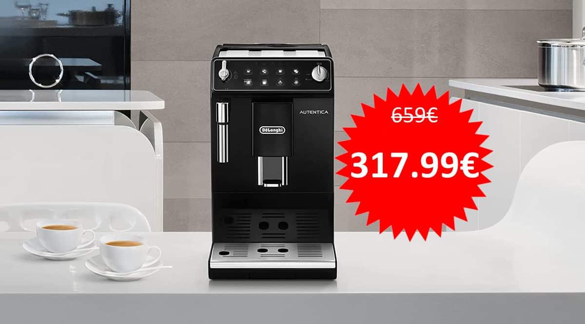 Cafetera automática DeLonghi ETAM 29.510.B barata. Ofertas en cafeteras, cafeteras baratas, chollo