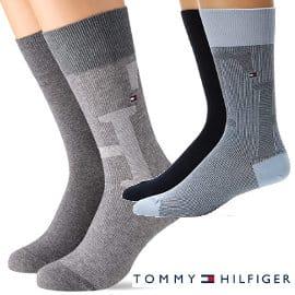 Calcetines Tommy Hilfiger Melange baratos, calcetines de marca baratos, ofertas en ropa