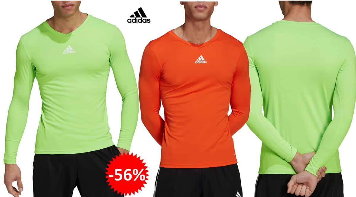 Camiseta Adidas Team Base barata, camisetas de marca baratas, ofertas en ropa, chollo