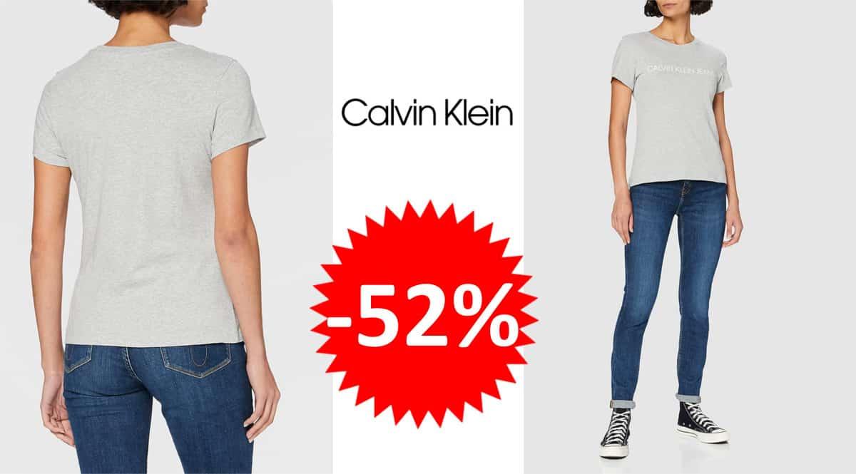 Camiseta Calvin Klein Jeans barata. Ofertas en ropa de marca, ropa de marca barata, chollo1