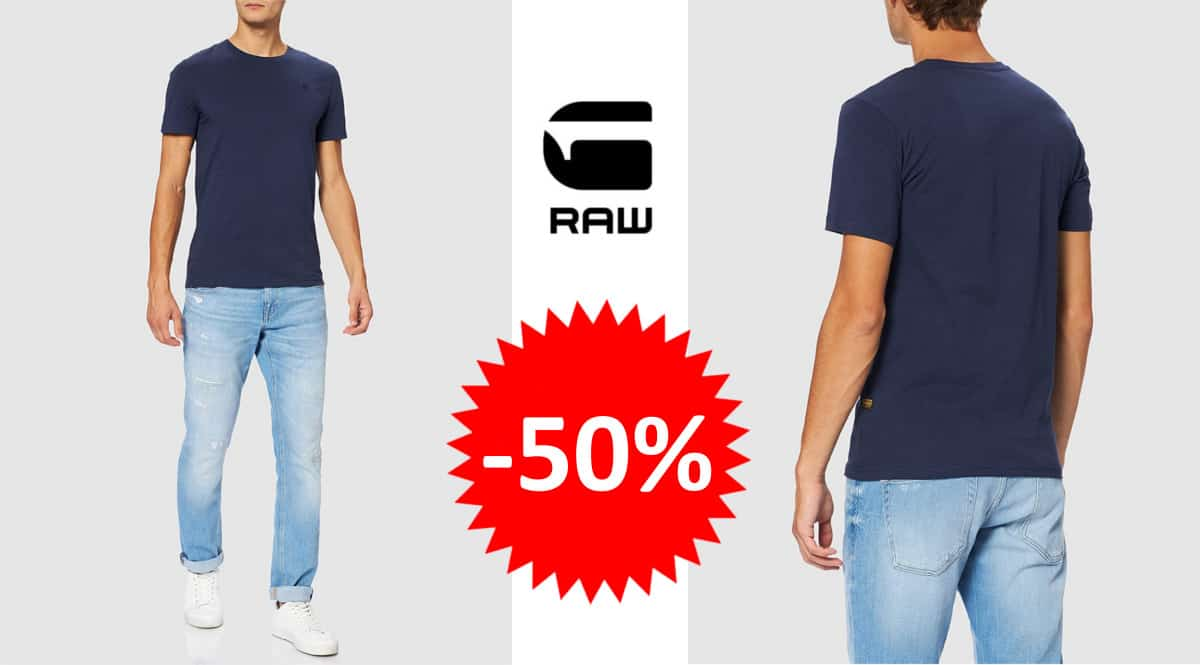 Camiseta G-Star RAW Base barata. Ofertas en ropa de marca, ropa de marca barata, chollo