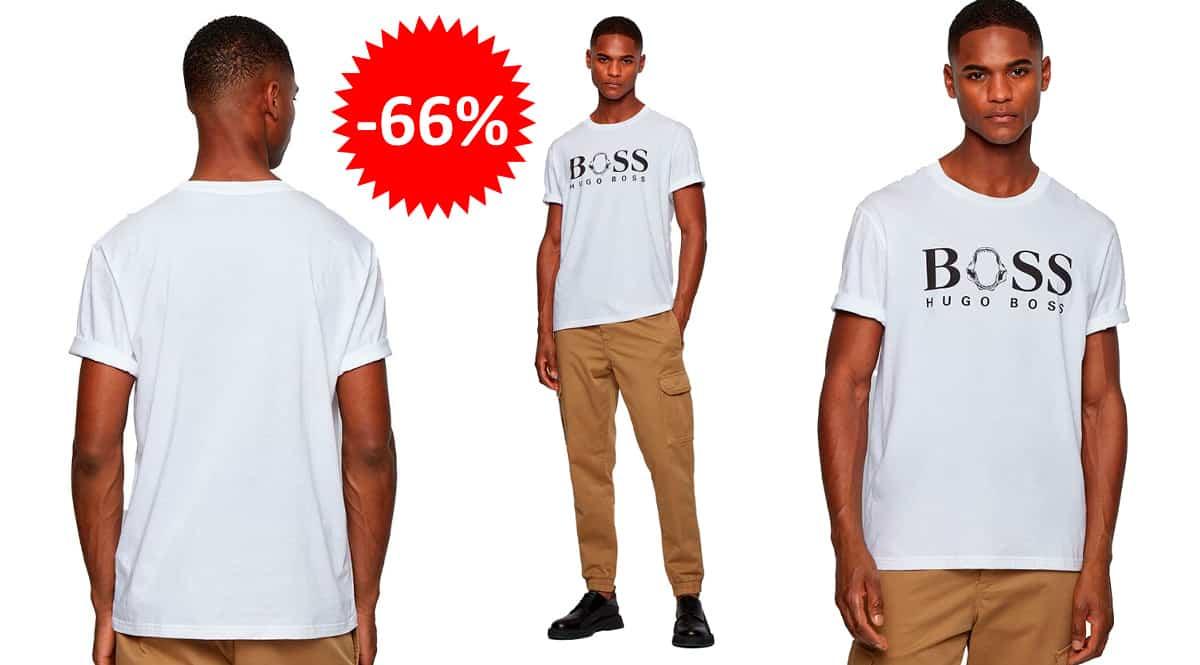 Camiseta Hugo Boss Tima barata, ropa de marca barata, ofertas en camisetas chollo