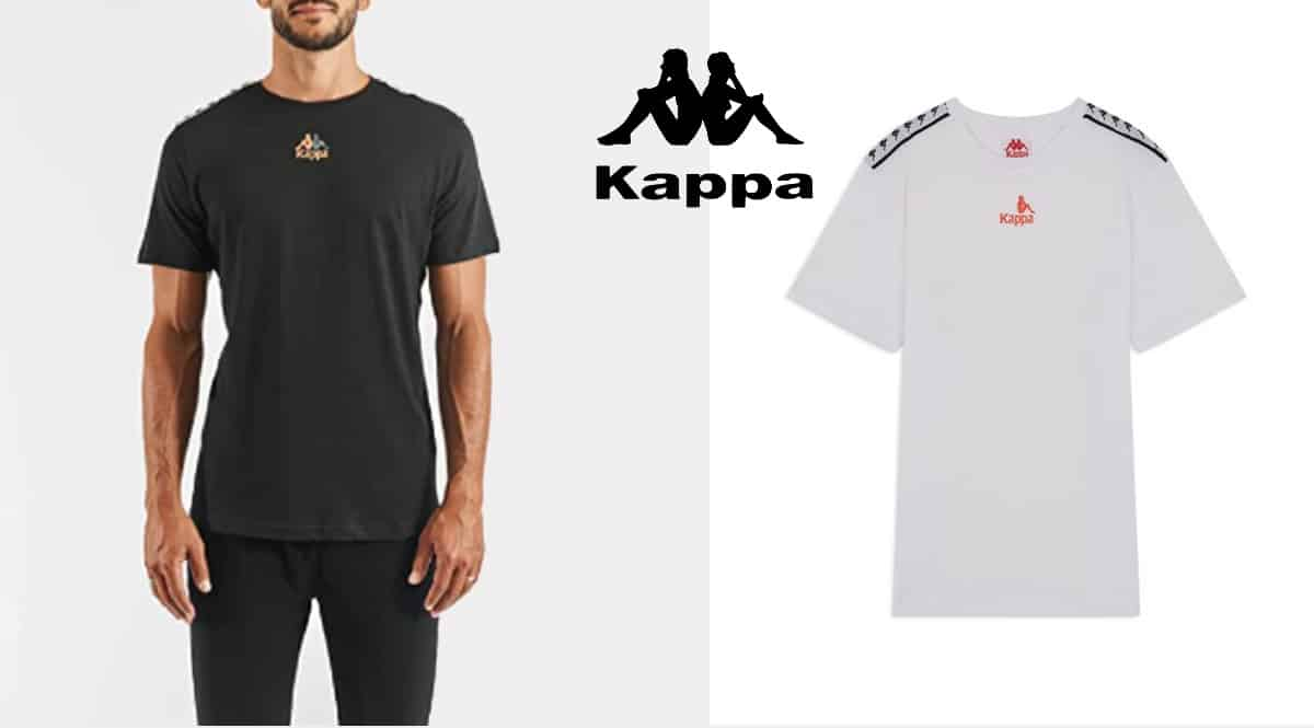 Camiseta Kappa Corezo Authentic Logo barata, camisetas de marca baratas, ofertas en ropa, chollo